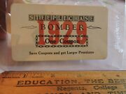 1929 Coney Island Steeplechase Park Bomber Ride Coupon Ticket Brooklyn Nyc
