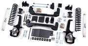 Zone Offroad 4 Suspension Lift Kit Dodge Ram 1500 2012 4wd 3 Rear Coils