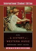 A History Of Western Music Ise+ Norton Recorded Anthology Of Wm 7e V1 Mp3 Dvd+no