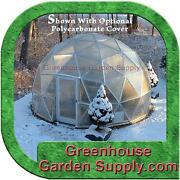 Greenhouse Geo-dome 16 Ft. With 3/4 Galvanized Steel Frame Only