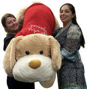 Giant Valentine Stuffed Dog 60 Inch Soft 5 Foot Stuffed Puppy You Are Special