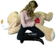Custom Personalized Giant Stuffed Dog 60 Inch Soft Customized With Your Text
