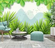 3d Leaf Grass A80 Wallpaper Wall Mural Removable Self-adhesive Sticker Zoe