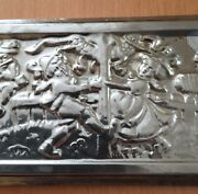 Old Rare Chocolate Mold Bavaria Dance In The May Anton Reiche Dresden Germany