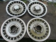 Gently Used 1979-96 Ford F150/bronco Fwd/15 Wheelcover Set/four Stout Clean