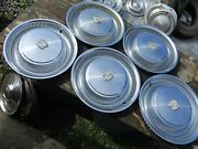 Gently Used 1974-76 Cadillac 15 Wheelcover Set/five Clean/hollander 2015