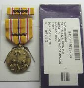 Ww Ii Asiatic Pacific Campaign Medal Set In Box With 4 Battle Stars