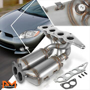 For 06-12 Mitsubishi Eclipse 2.4l Engine Exhaust Manifold Catalytic Converter