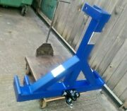 Heavy Tractor 3 Point Linkage Loader Mount Tow Trailer Machinery Ball Pin Hitch