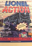 Lionel Action Dvd Collection 4 Dvds Set Tm Books And Video