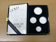 Box And Coa For 1996 Gold American Eagle Proof Set Box And Coa Only No Coins