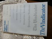 3458youngstown Vindicator Pages From History Events 1869-1991 Bound Softcover
