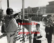 Frank Perry - Photograph - Signed - Doc - Joan Crawford - Director