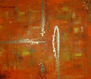 Abstract Paintings Modern Art Wall Hand Painted Canvas Decor Melania 55 X 55