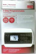 Radio Wall Thermostat T22 Backlit 7 Day Programmable Energy Saving