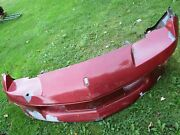 Used/oem 1993-97 Chevrolet Rs/ss Camaro Front Bumper Cover/original Red/v.usable