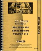 Case Ih International Tractor Service Manual 785 795 895 885 995 1986 Up