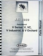Case V Vc Vi Vo Tractor Parts Manual Catalog Industrial And Orchard