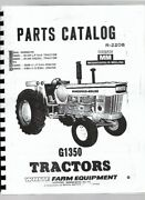 Minneapolis Moline G1350 Oliver White 2155 Tractor Parts Manual Catalog