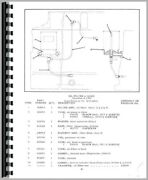 Parts Manual Allis Chalmers D17 Tractor Sn 0-75000