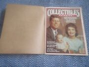 November December 1983 Collectibles Illustrated Magazine Kennedy The Jfk Library