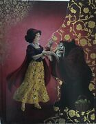 Disney Fairytale Designer Doll Collection Journal Snow White And The Witch Le