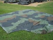 Military Surplus Truck Cover M817 M929 M51 Dump Bed 5 Ton Camo Unissued Army