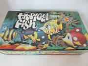 Case Of 12 Windup Novelty Toys Tropical Fish Swimming Action Countertop Display