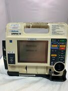 Lifepak 12 Monophasic 3 Lead Ecg Only Unit Little Broken And Paint Working