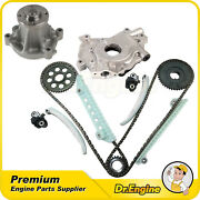 For 00-03 Lincoln Town Ford Mercury 4.6l V8 Timing Chain Kit Oil Water Pump Set