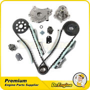 Timing Chain Water Pump Oil Pump Kit For 97-01 Ford Explorer F150 E150 4.6l V8