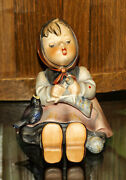 Hummel Goebel Happy Pastime 3.5 Tall 69 Full Bee Collectible 1956 W/sticker
