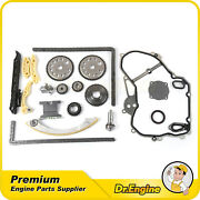 Timing Chain Oil Pump W/cover Gasket Kit For 00-10 Pontiac Chevy Hhr Saturn 2.2l