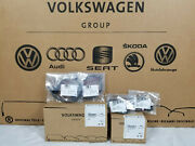 Audi Q7 Front And Rear Brake Pads And Front Wear Sensors Oem Brand New 7l0698151r