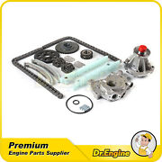 Timing Chain Oil Water Pump Kit For 97-02 Ford E150 F150 Expedition 4.6l Vin W