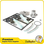 Timing Chain Water Oil Pump Kit Fit 99-00 Ford Mustang 4.6l Only For Windsor Eng