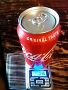 Rare Factory Error Empty Unopened Sealed Cola Can Excellent Condition