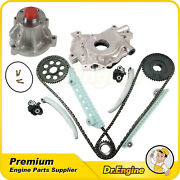 Timing Chain Kit For 02-05 09 Mercury Ford F150 Explorer 4.6 V8 W/oil Water Pump