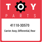 41110-3d570 Toyota Carrier Assy Differential Rear 411103d570 New Genuine Oem