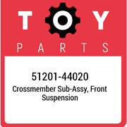 51201-44020 Toyota Crossmember Sub-assy Front Suspension 5120144020 New Genuin