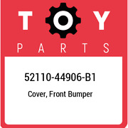 52110-44906-b1 Toyota Cover Front Bumper 5211044906b1 New Genuine Oem Part