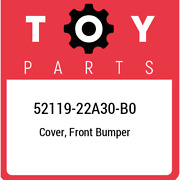 52119-22a30-b0 Toyota Cover Front Bumper 5211922a30b0 New Genuine Oem Part