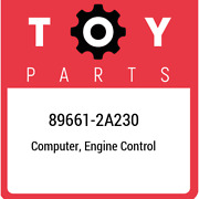 89661-2a230 Toyota Computer Engine Control 896612a230 New Genuine Oem Part