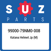99000-79nm0-008 Suzuki Katana Helmet Jp M 9900079nm0008 New Genuine Oem Part