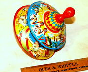 Vintage Spinner Spinning Top Children´s Toy 1950s 1960s. 1 For 70, 2 For 120 Usd