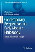 Contemporary Perspectives On Early Modern Philo Lenz Waldow-