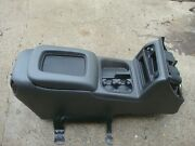 2003-06 Yukon Tahoe Dark Gray Center Console Cup Holder Lid Complete Assembly