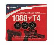 Crosman 8-shot Rotary Clips Fits T4 And 1088 Air Pistols Bb/pellet 3/pack 488