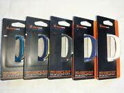 Blackweb Replacement Band With Steel Buckle For Fitbit Flex 2 - Lot 5