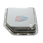 Transmission Pan Turbo 350 Th350 Stock Depth And Capacity - Smooth Chrome
